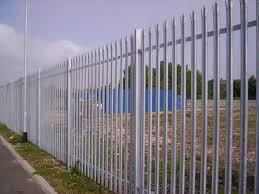 sample metal garden fence repair Edinburgh