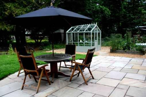 edinburgh garden patio example - Garden Furniture Edinburgh