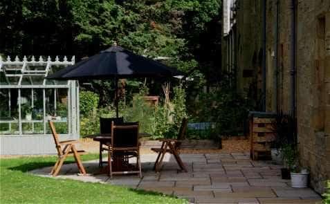 Garden landscapers designers colinton gardening services edinburgh garden patio example workwithnaturefo