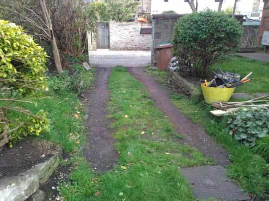 driveway installer before example