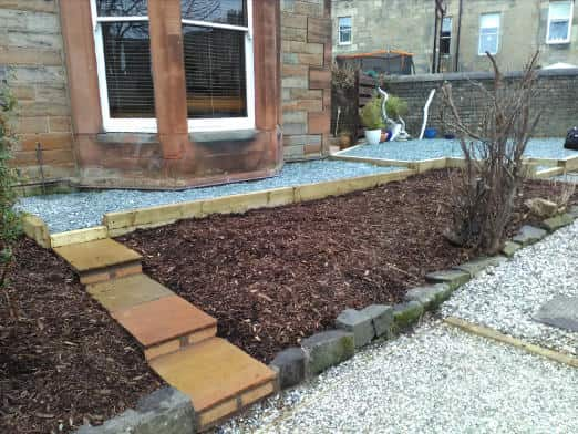 garden landscaping after example